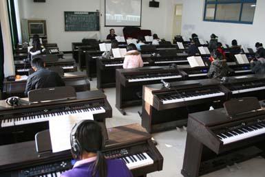 音乐专业课程